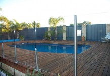 Pool Decking After